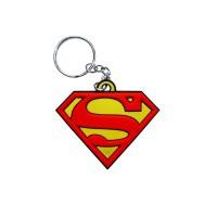 Llavero de goma de Superman.