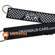 Llaveros de tela de coches y de automoción.