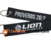 Llaveros de tela para equipos de futbol, en este caso Lion.
