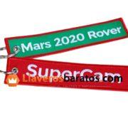 Llavero personalizado de Mars 2020.