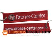 Llaveros de tela para drones u organizaciones de pilotos de drones.