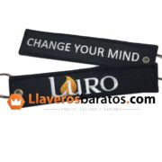 Llaveros de tela de la empresa Luro.