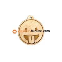 Llaveros de madera publicitarios con logo
