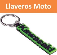 Llaveros para moto personalizados